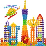 AxiEr Plastic Baby Snowflake Small Building Blocks Jigsaw Puzzle Toys,500-Piece -Ideal Christmas and Birthday Gift for Kids Children