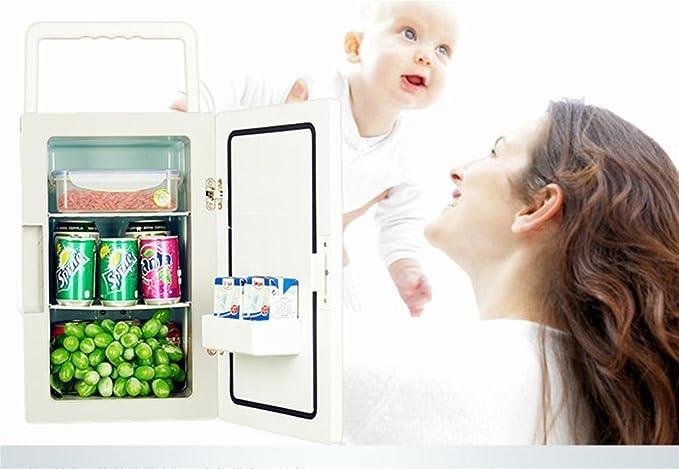 Kleiner Tragbarer Kühlschrank : Kühlerkühlen und heiz funktion tragbarer mini kühlschrank l