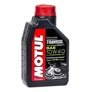 MOTUL Transoil Expert - Aceite para caja de cambios (10 W 40, 1 litro