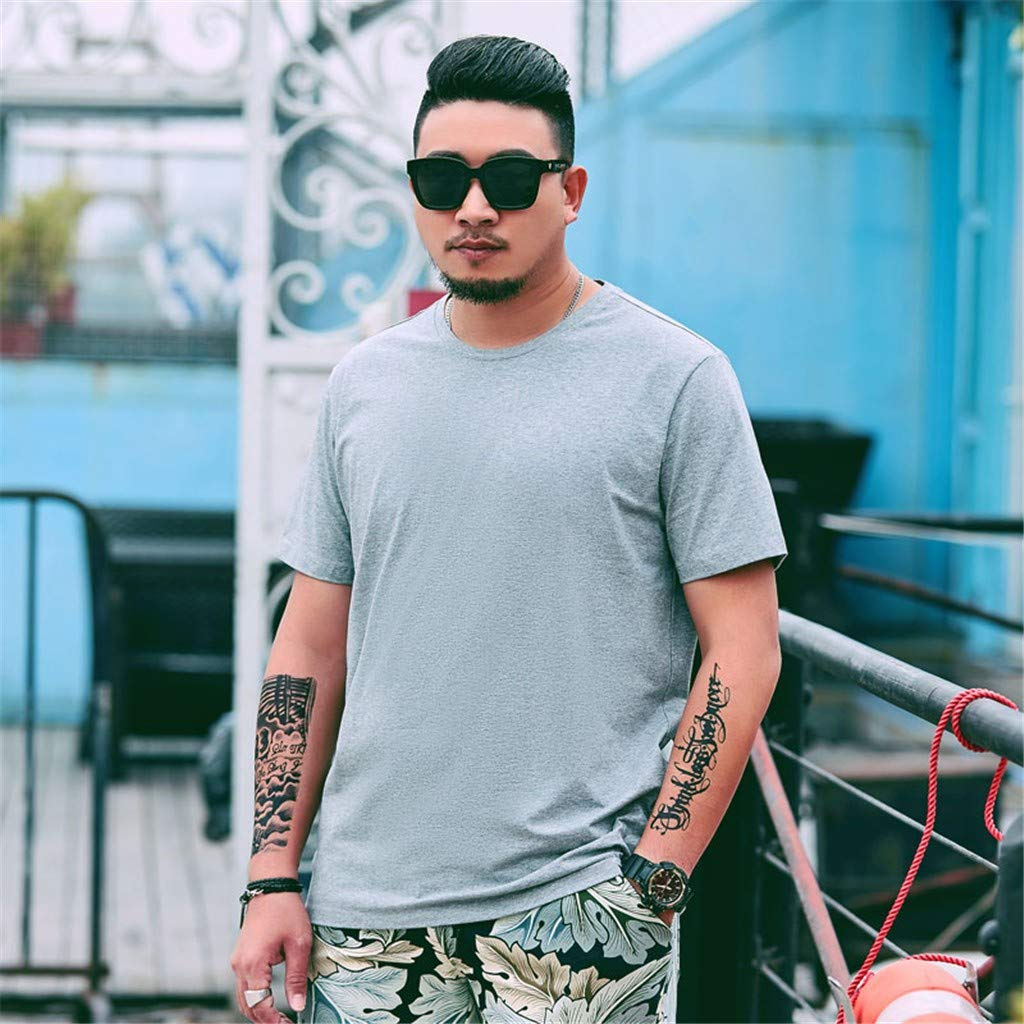 Stoota Men Classic Design T-Shirt,Casual Tops,Fashion Blouse Plus Size 2xl-6xl