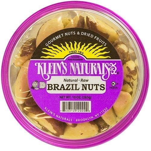 Klein's Naturals Brazil, Raw Shelled, (Pack of 6) by Unknown