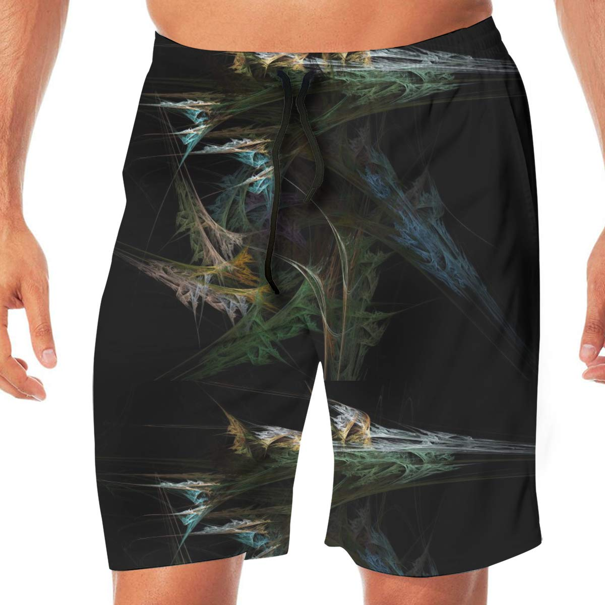 L XXL XL Cbyan Beach Trunks Mens Quick Dry Sports Shorts with Pockets M
