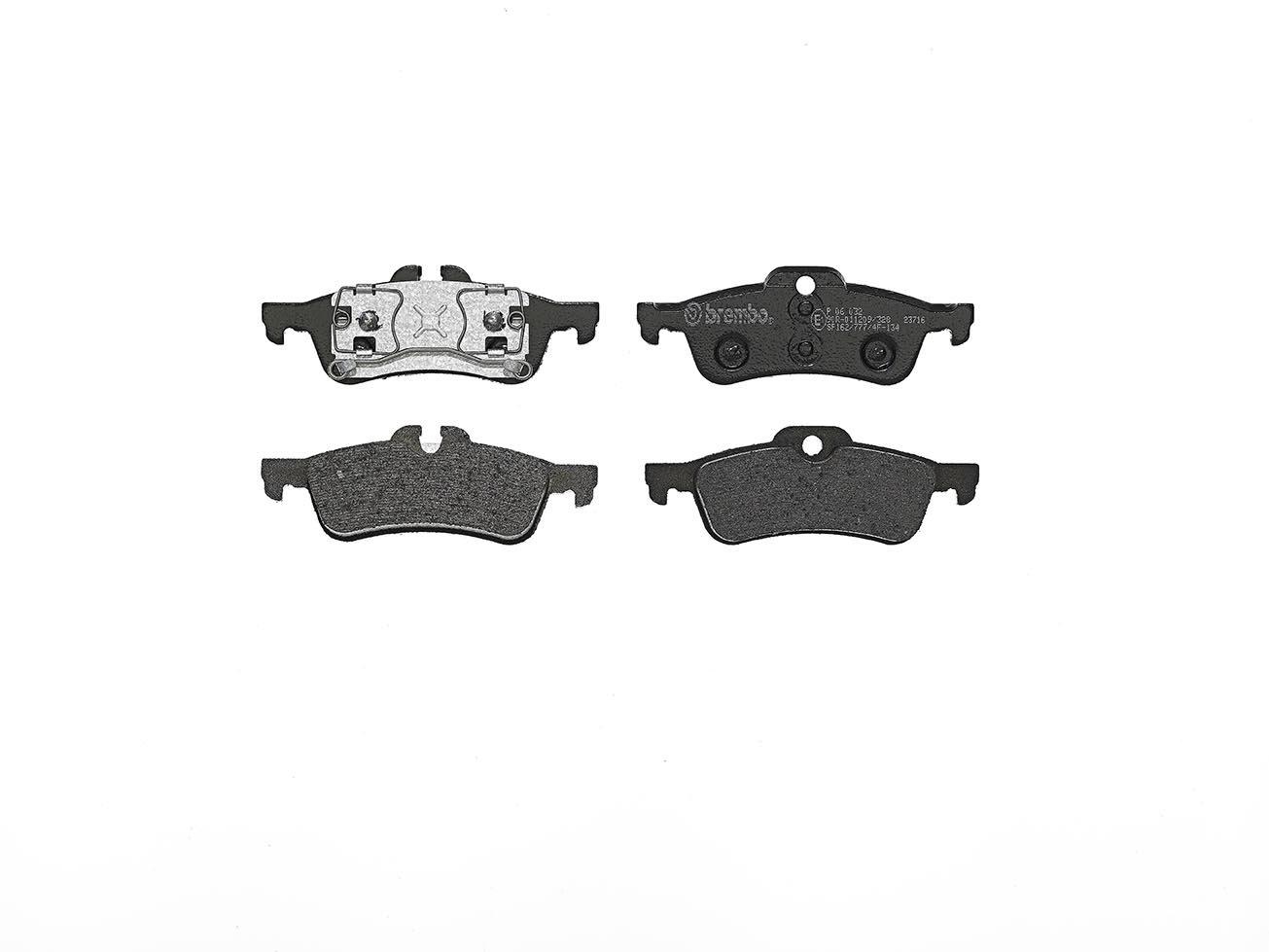 Brembo P06032 Rear Disc Brake Pad - Set of 4