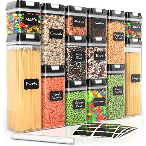 Airtight Food Storage Containers for Pantry Organization and Storage by