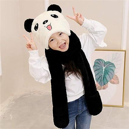 fed6cca18 Unisex para niños Suave Invierno cálido con Capucha Bufanda Pañuelo de  Cuello de la Camisa con