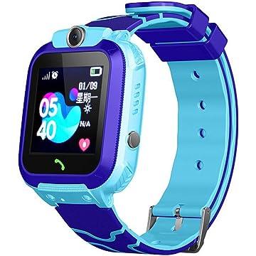 Ladiy Children Smart Watch SOS Call Location Tracker Student Two-Way Voice Wristwatch Smart Watches