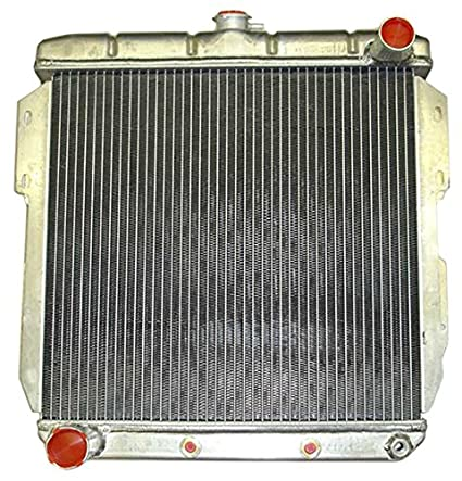Amazon new 55 57 ford thunderbird aluminum downflow radiator new 55 57 ford thunderbird aluminum downflow radiator with built in transmission cooler publicscrutiny Images