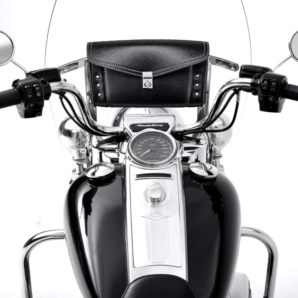 Windshield Bag Windscreen Pouch Pouch for Road King Softail Storage Tool
