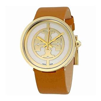 663e3ed79f5 Amazon.com  Tory Burch Reva Ivory Dial 38 MM Ladies Watch 4020  Watches