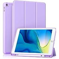 Akkerds - Funda para iPad 10.2 2020 iPad 8.ª generación/2019 iPad 7.ª generación con soporte para lápiz, funda…