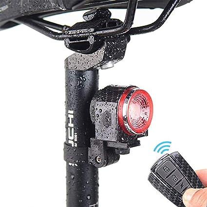 LEIWOOR - Alarma inteligente para bicicleta (recargable ...