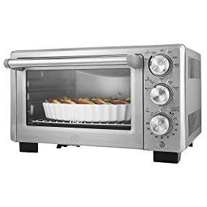 Oster Convection Countertop Toaster Oven Stainless Steel, (TSSTTVDFL2)