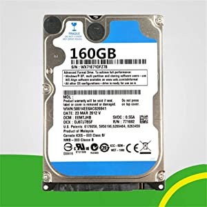 "hossen PC Hard Drive HDD 5400rpm Cache SATA 2.5"" Laptop Hard Drive 160GB"