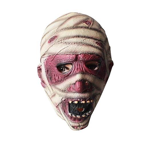 BESTOYARD Máscara Momia de Látex para Accesorio de Disfraz de ...