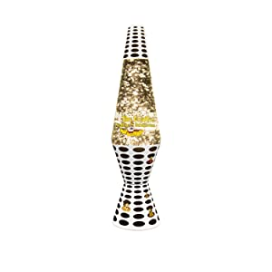 Lava Lite 2166 14.5 Inch Beatles Yellow Submarine Lava Lamp, Silver Star  Glitter/Clear Liquid