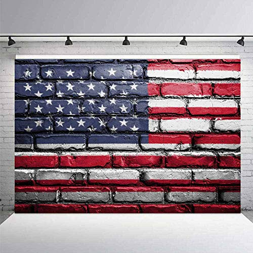 - LELEZ 10x7ft American Flag Backdrop Independence Day Veterans Day US Flag Photography Background Baby Children Vinyl Photoshoot Studio Booth Props SPGE055