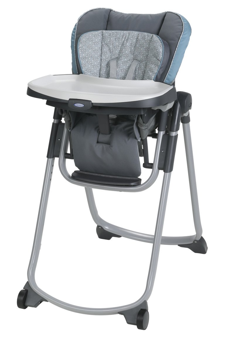 Graco Slim Spaces High Chair | Compact High Chair, Alden by Graco