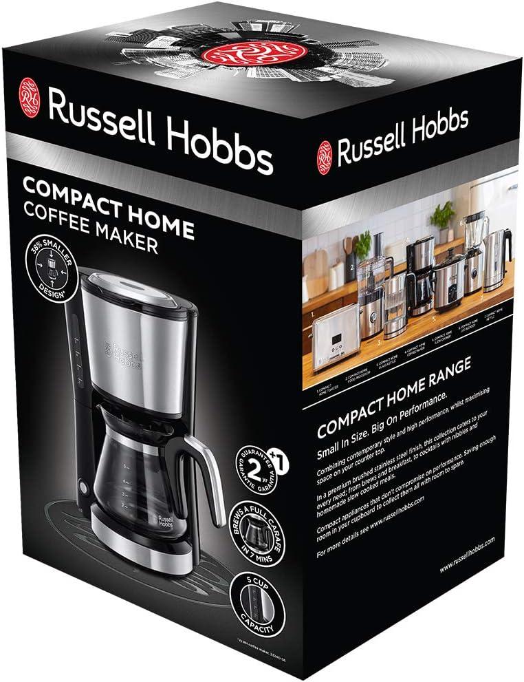 Russell Hobbs 24210-56 - Cafetera de goteo (cristal 650 ...