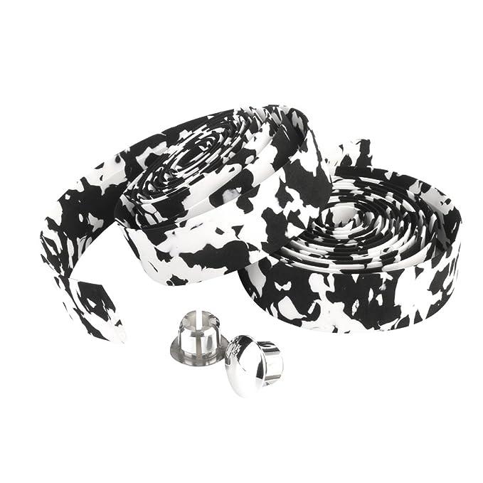 2 opinioni per Road Bike / Bicycle Cork Handlebar Tape / Wrap (White with Black)