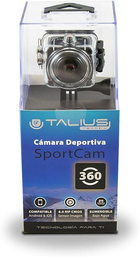 Talius SportCam 360 - cámara Deportiva - batería 1150mAh - Angulo ...