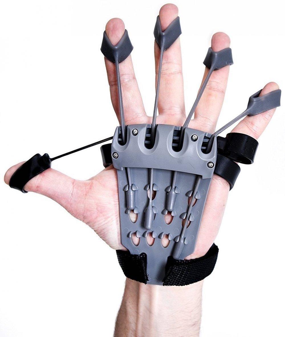 1bbdca5099cbd Amazon.com: Finger Strengthener Hand Exerciser Physical Therapy Grip ...