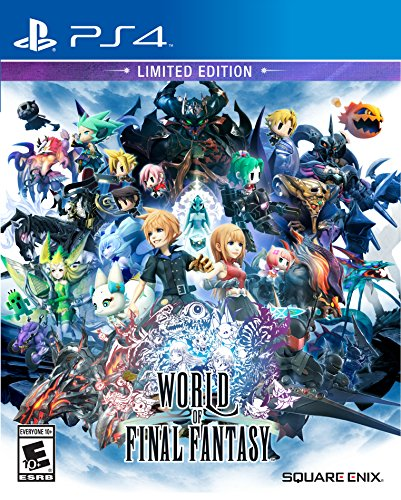 World of Final Fantasy Limited Edition - PlayStation 4 (Video Game Collectors Extras)