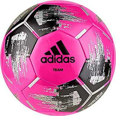 adidas Team Glider Balón Fútbol Hombre, Multicolor (ROSSHO/Negro ...