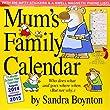 Mum's Family Calendar 2015