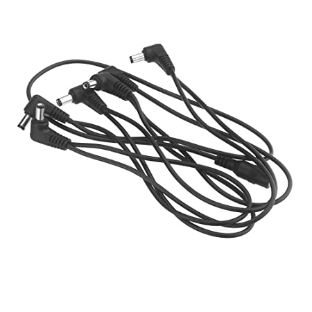 Amazon Com Andoer Vitoos 6 Ways Electrode Daisy Chain Harness Cable