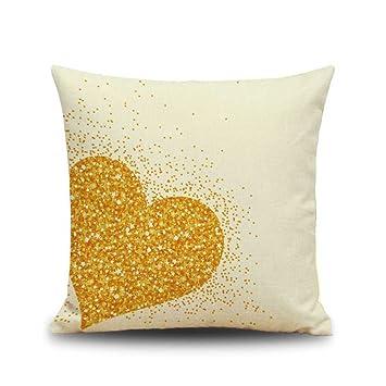 Amazon.com: 17.7 x 17.7 inch cuadrado labios corazón manta ...