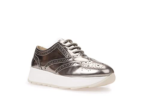 222161a4cc GEOX D Gendry A D825TA 000BN CB500 Champagne Zapatos Mujer: Amazon ...
