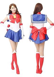 YOUYI Sailor Moon Sailor Venus Cosplay Shoes Imitated Leather Aino Minako Halloween