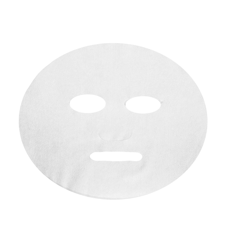 Elisona-100 Pcs Non-woven Disposable Ultra-thin DIY Cosmetic Face Skin Care Facial Mask Paper Sheet