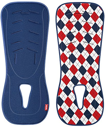 Aprica soft fashionable mat Argyle NV (child seat Child & Junior seat stroller, Hi-Lo bed shared sweat mat) genuine 98658
