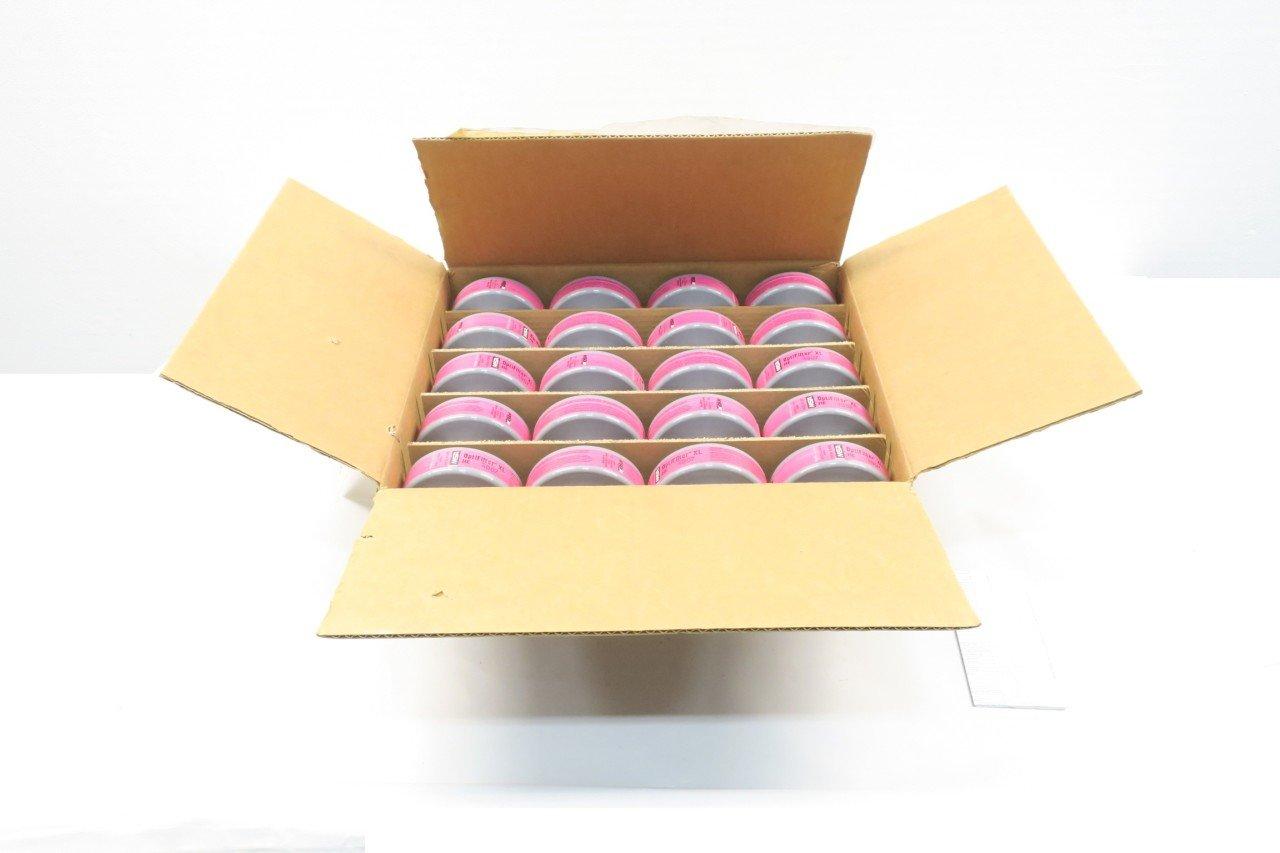 BOX OF 20 NEW MSA HE/P100 OPTIFILTER XL RESPIRATOR FILTER CARTRIDGES D583976