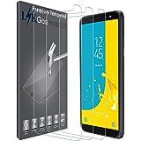 LK Protector de Pantalla para Samsung J600 Galaxy J6 / Samsung Galaxy J6 2018, [3 Pack] Vidrio Templado Screen Protector [Garantía Vitalicia De Sustitución]