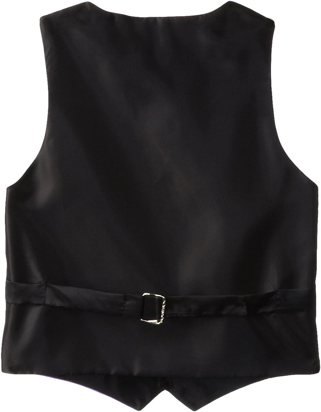 American Exchange Little Boyss Satin 4 Piece Vest Set