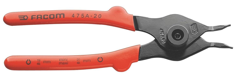 Facom Pince r/éversibles 475A.20 rondelles 20 cm