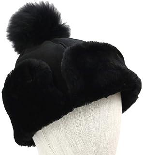 73e93dcfc UGG Women's Pom Waterproof Sheepskin Hat Slate Curly One Size at ...