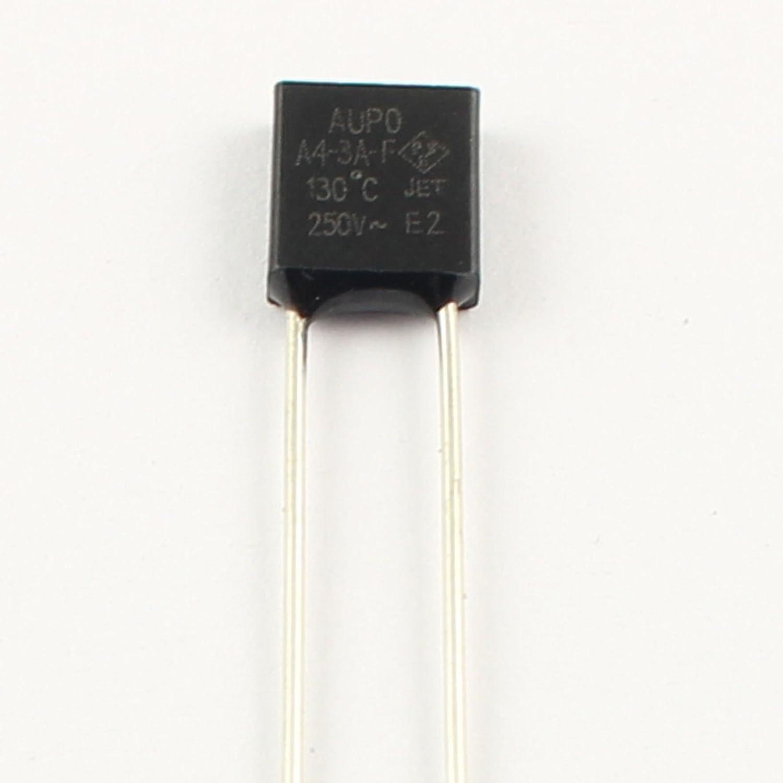 50 Pcs Aupo Thermal Fuse Cutoff TF 102℃ 250V 3A A1-3A-F