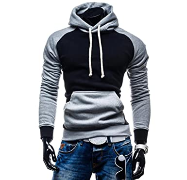 Rouquyanq Men Hoody Sweatshirts Hip Hop Fashion Slim Hoodies Men Hooded Cloak Sudaderas Hombre Casual Hoodie