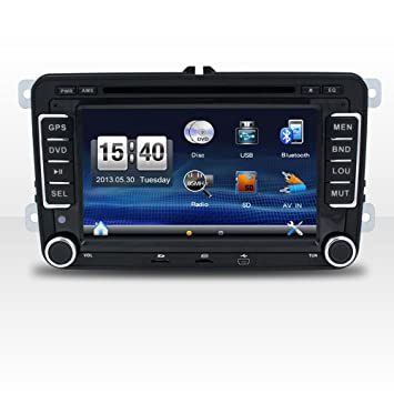 Witson® 7 Inch Wince 6.0 Double Din HD Touch Screen Headunit for VW Series/