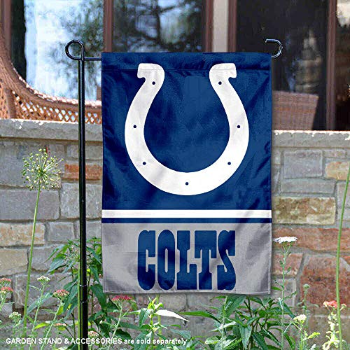 - Wincraft Indianapolis Colts Double Sided Garden Flag