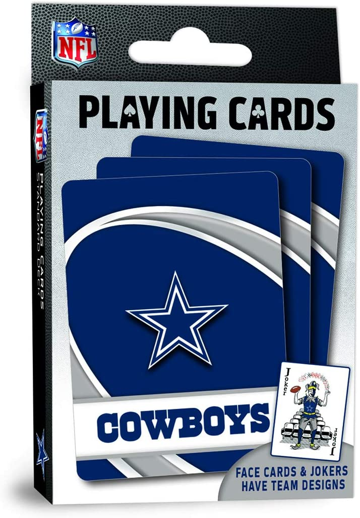 MasterPieces NFL Dallas Cowboys Playing Cards