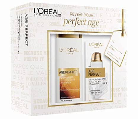 L Oreal Paris Age Perfect, Set de regalo para el día de la ...