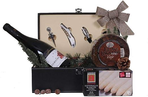 Estuche navidad VINO & QUESO con Accesorios para vino: Amazon.es: Alimentación y bebidas