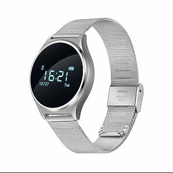 Monitor de Actividad,reloj inteligente mujer con Perseguidor de la aptitud Monitor de Ritmo Cardíaco