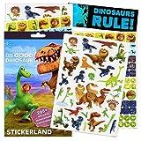 Disney The Good Dinosaur Stickers ~ Over 300 Stickers Featuring Arlo, Spot, Thunderclap, Nash, Ramsey ~ with Bonus Bookmark