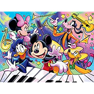 Ceaco Together Time – Disney/Pixar – Fab Five Music Concert Jigsaw Puzzle, 400 Pieces