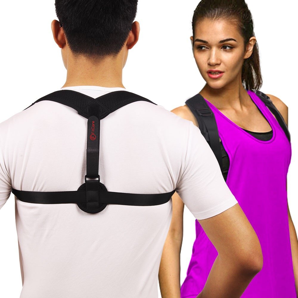 Posture Corrector for Men and Women – Back Brace for Straight Posture – Adjustable Back Support – Back Pain Relief Posture Brace – Invisible Under Clothes